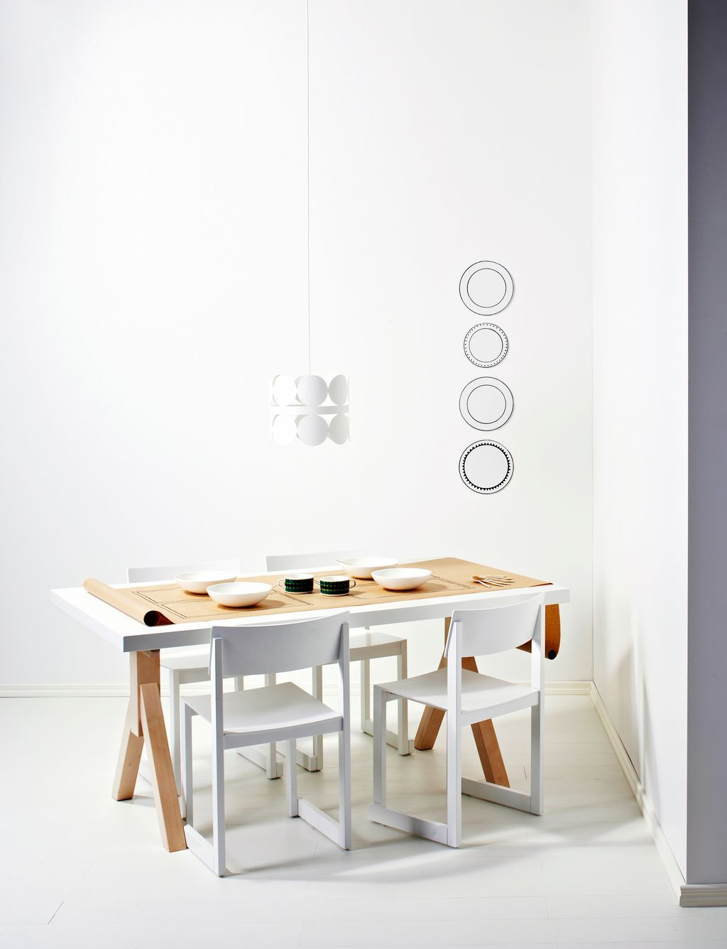 White dining | Scandinavian Deko