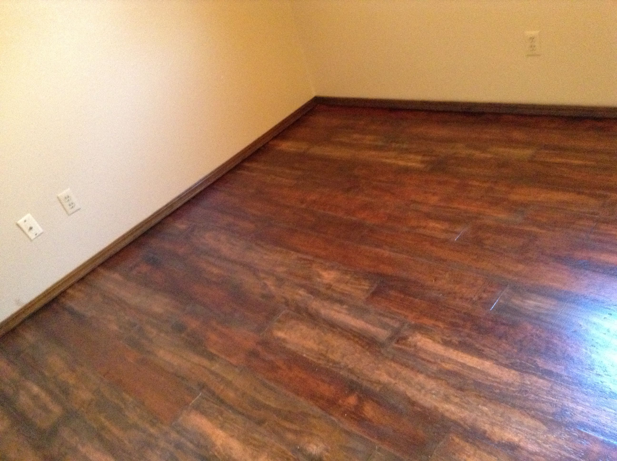 2nd Ripped Plywood Planked Floor For Rental Plywood