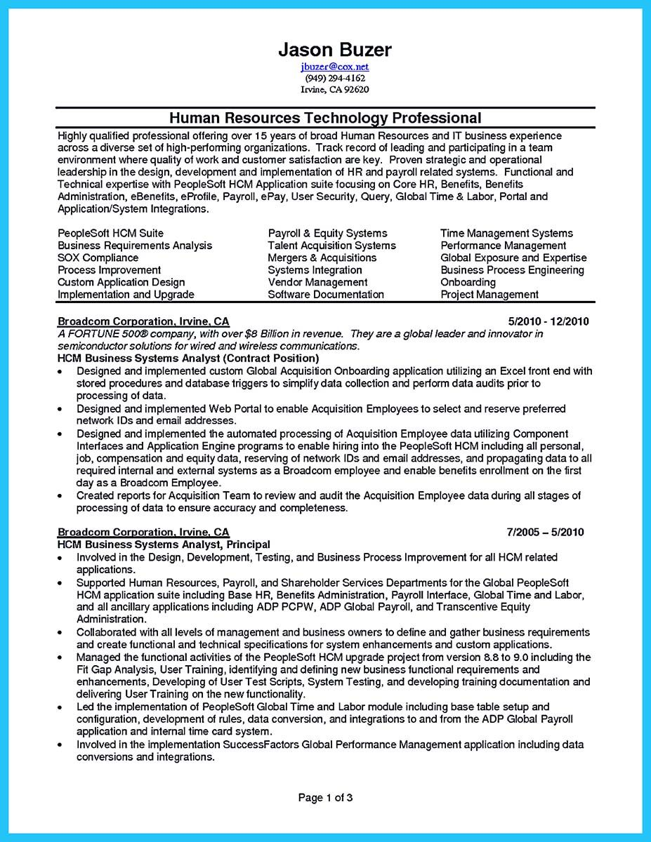 Cool Best Secrets About Creating Effective Business Systems Analyst Resume Check More At Http Snefci Org Bes Business Analyst Resume Business Systems Resume