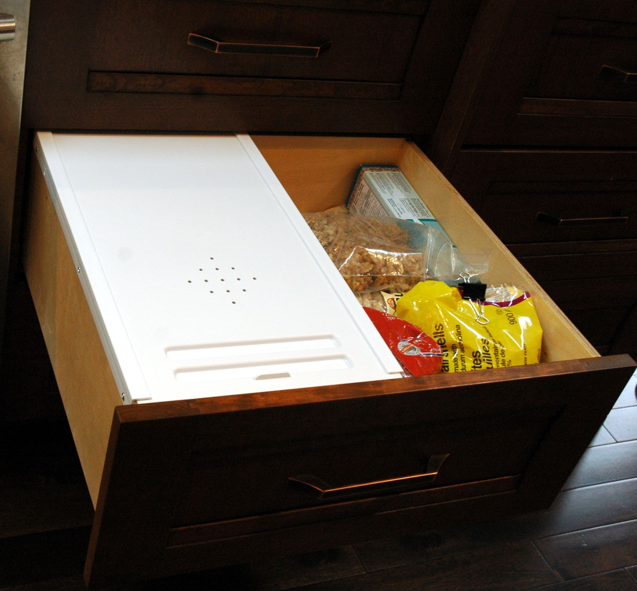 Built In Bread Box In A 24 Drawer By Www One21design Com Home Improvement Projects Home Improvement Kitchen Design