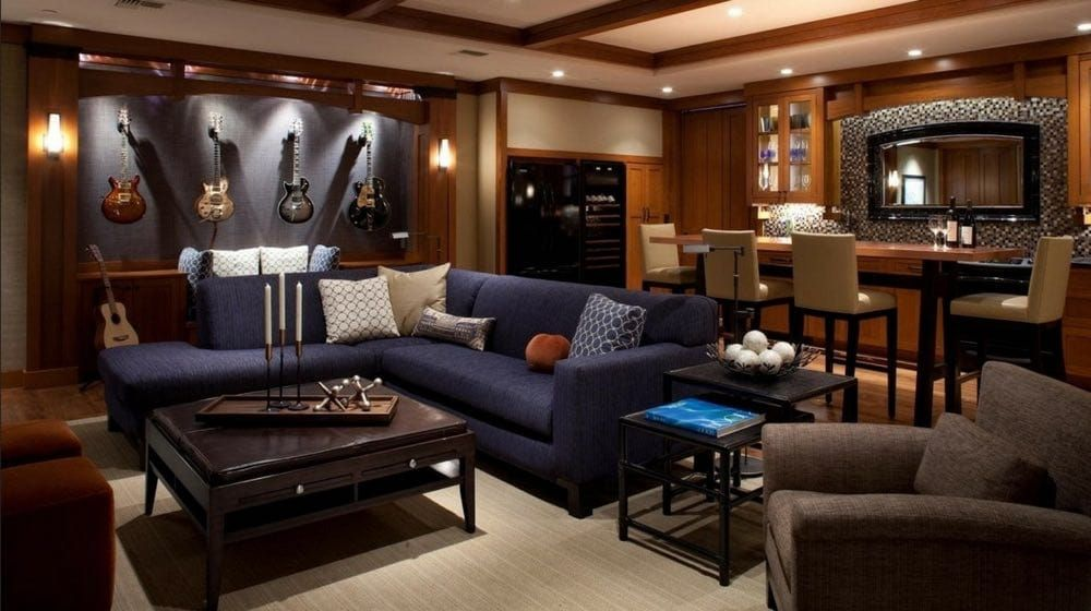 Man Cave Decor And Furniture Ideas To Try This Week Man Cave Room Man Cave Living Room Man Cave Furniture