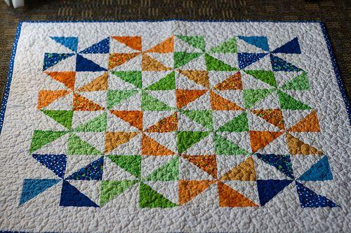 all over stipple | Kara quilt ideas | Pinterest | Pinwheel quilt ... : baby pinwheel quilt - Adamdwight.com