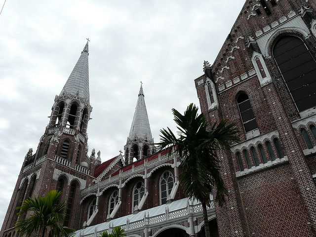 Saint Mary's Cathedral Yangon Myanmar
