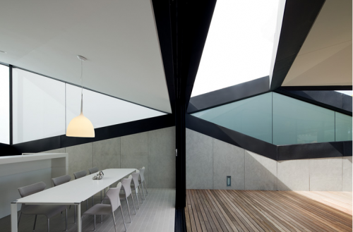 pitched roof house by chenchow little