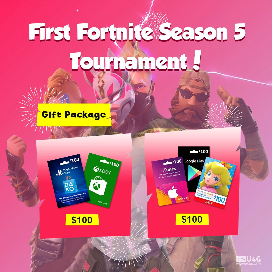 Follow our discord and fb for u4golds fortnite