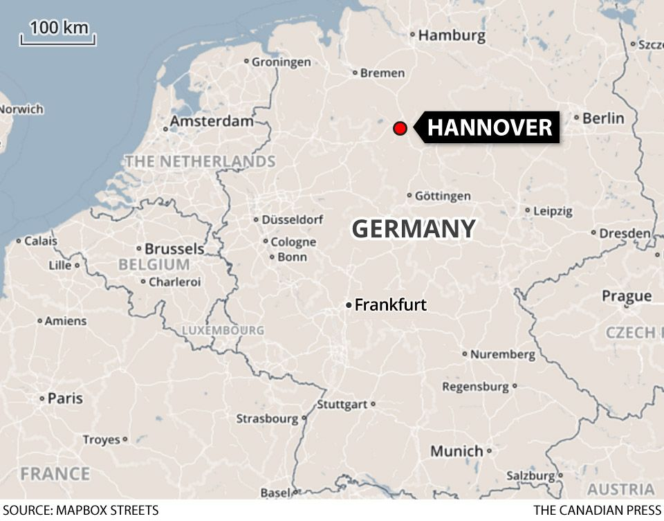 Paris to Hannover map Germany 2019 Pinterest Hannover