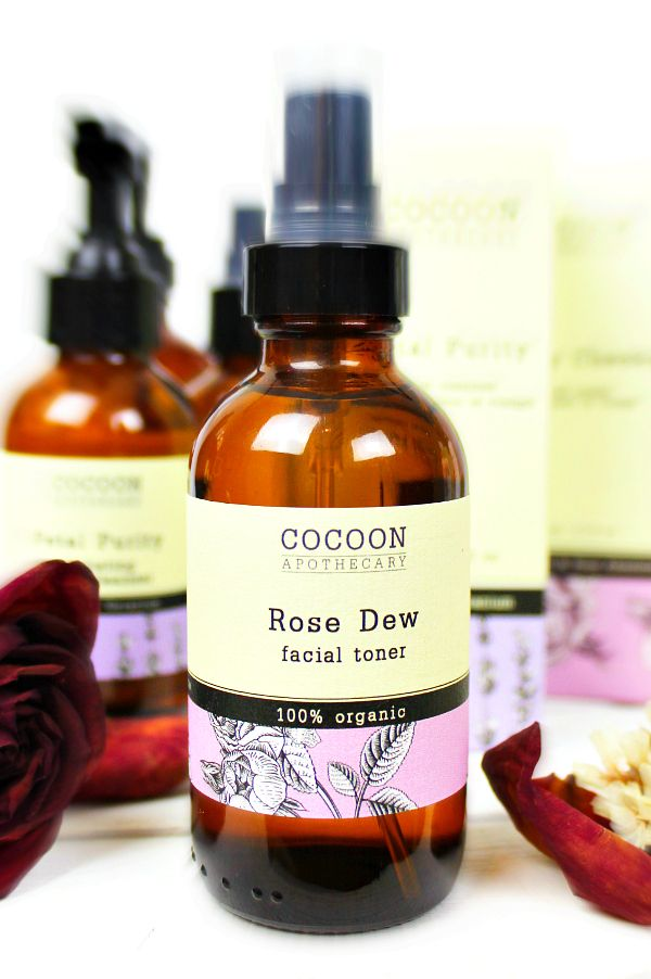 Photo of ROSE DEW Facial Toner – by CocoonApothecary.com