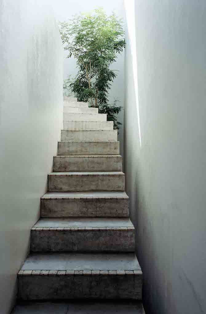 Love house by Takeshi Hosaka architects, Yokohama, Japan, a response to Japanese urbanism that makes the most of the available space light and air in the tightly packed city.