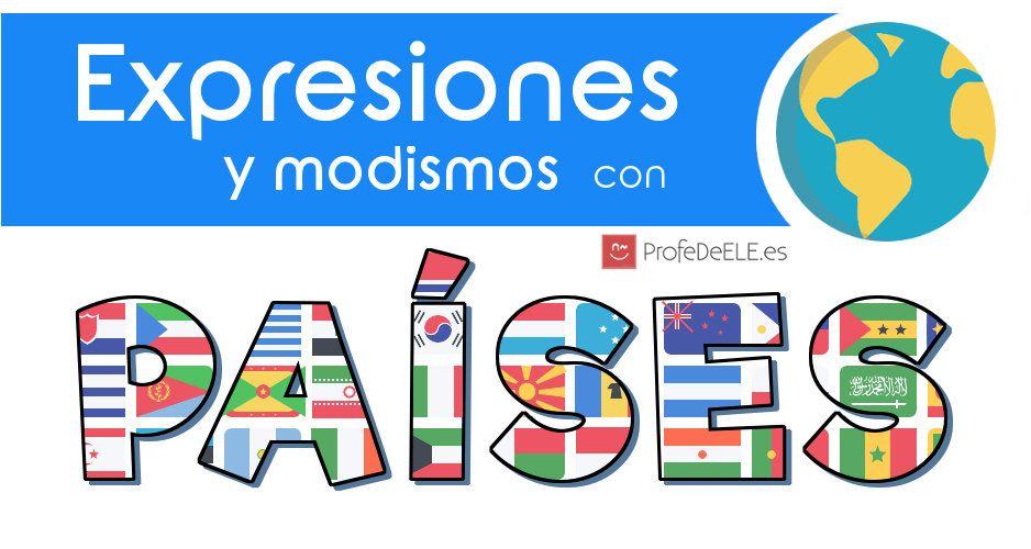 Mundo Intercultural Países Y Nacionalidades En Español: Pin De ProfeDeELE.es En ProfeDeELE.es
