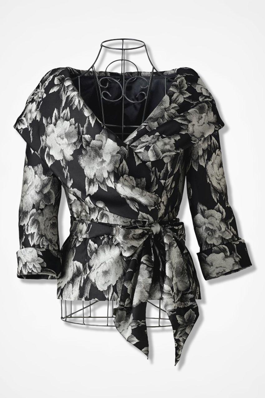 656657a232056c Majestic Portrait Evening Blouse by Alex Evenings   Dresses I love ...