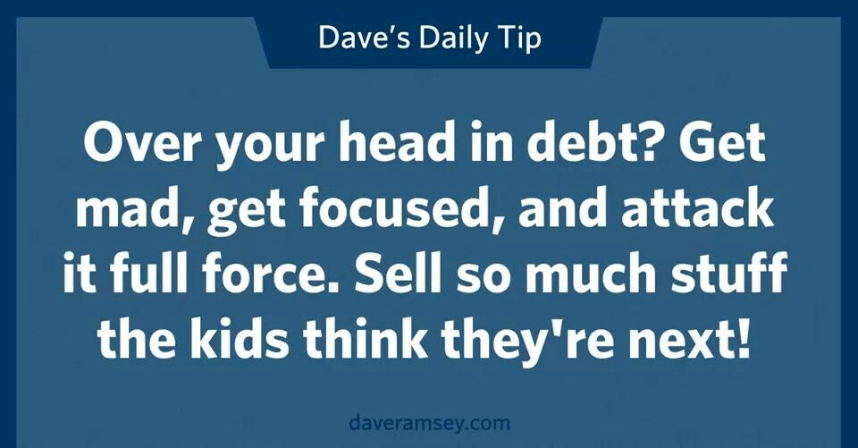 Sell so much stuff the kids think theyu0027re next Dave Ramsey - fresh 6 chase mortgage statement