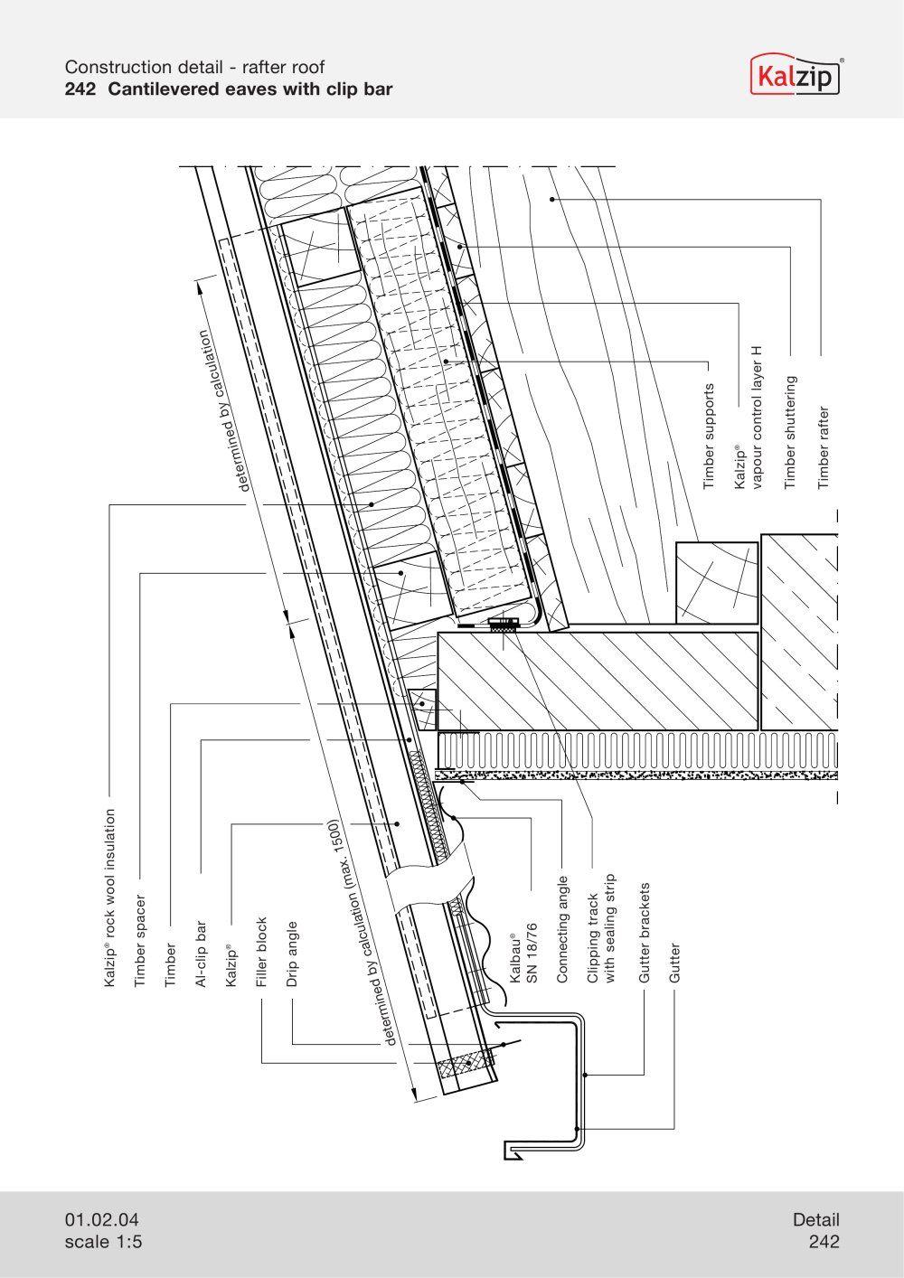 Kalzip Construction Details Sketchup Architecture