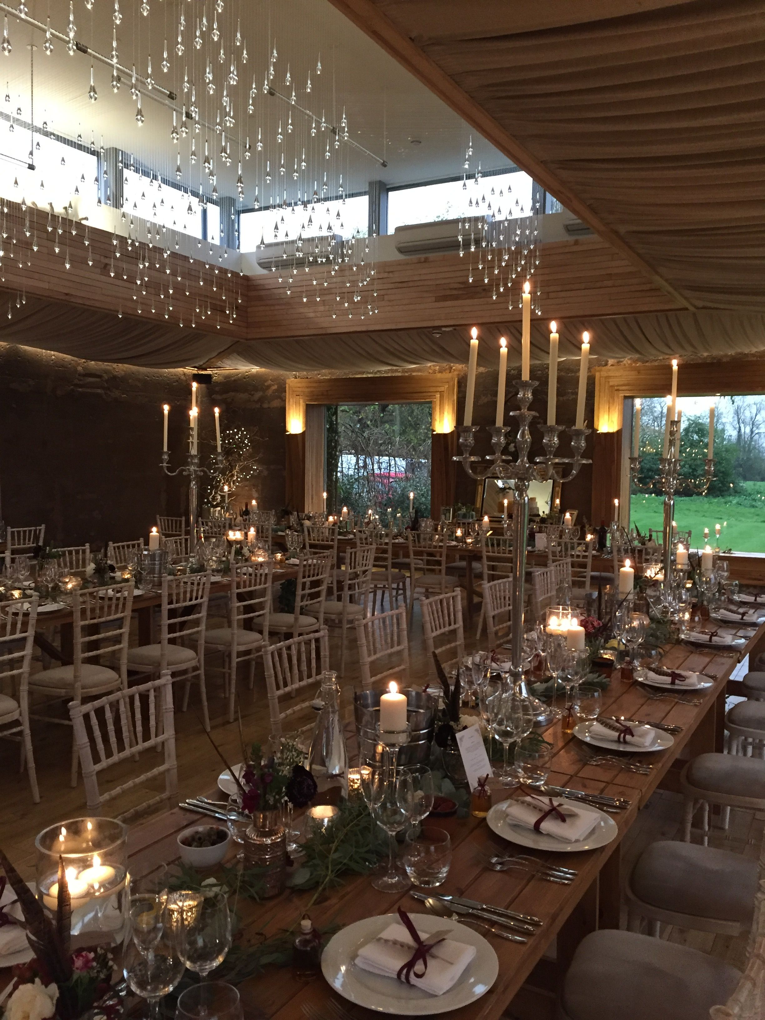 Elmore Court Stunning With Long Tables And