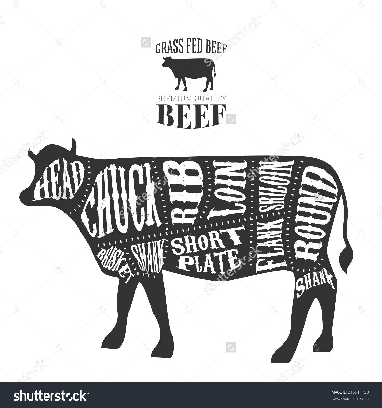 grilled beef beef dishes cut image beef cuts diagram menu design  [ 1500 x 1600 Pixel ]