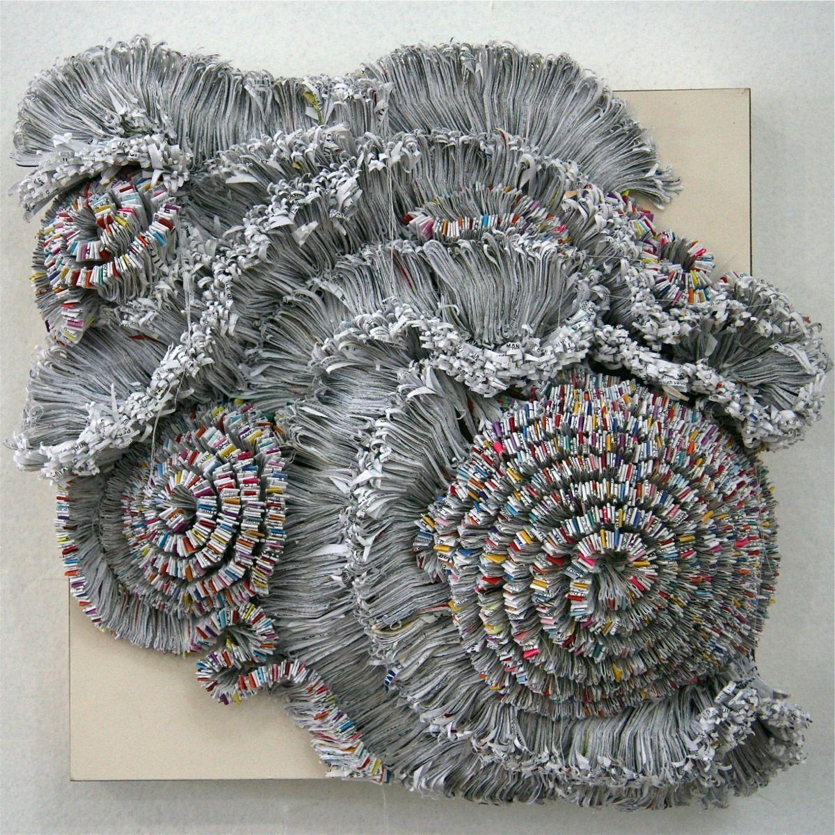 Jaynie Gillman Crimmins | Textured paper art, Textile wall art ...
