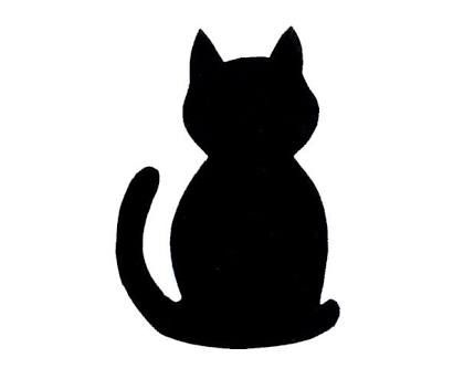 Image result for black cat template | Early Years Math | Pinterest ...