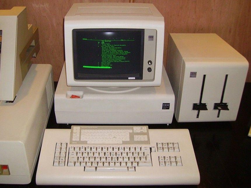 Displaywriter Old School Word Processing Vieux Ordinateurs