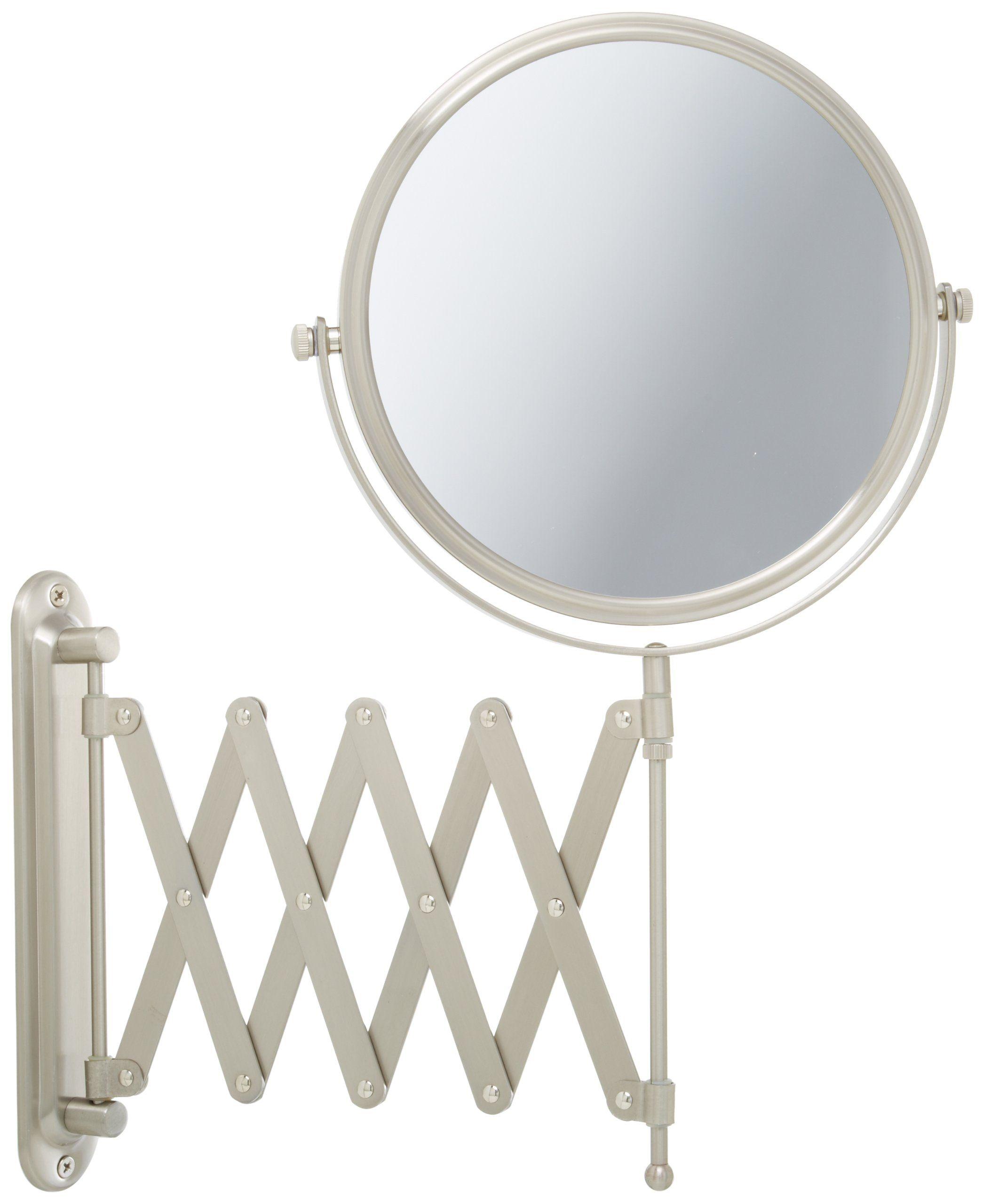 Jerdon Jp2027n 8 Inch Two Sided Swivel Wall Mount Mirror