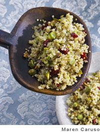 Quinoa Salad with Pistachios and Cranberries by Fran Gage