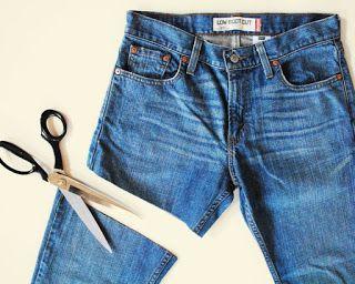 HAZ ESTO TU MISMA!: Cambiar de jeans viejos a shorts de verano!