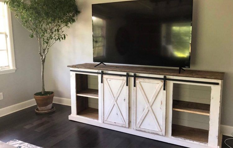 Over 20 Amazing Ideas For Diy Tv Stand Farmhouse Entertainment Center Barn Door Tv Stand Farmhouse Tv Stand