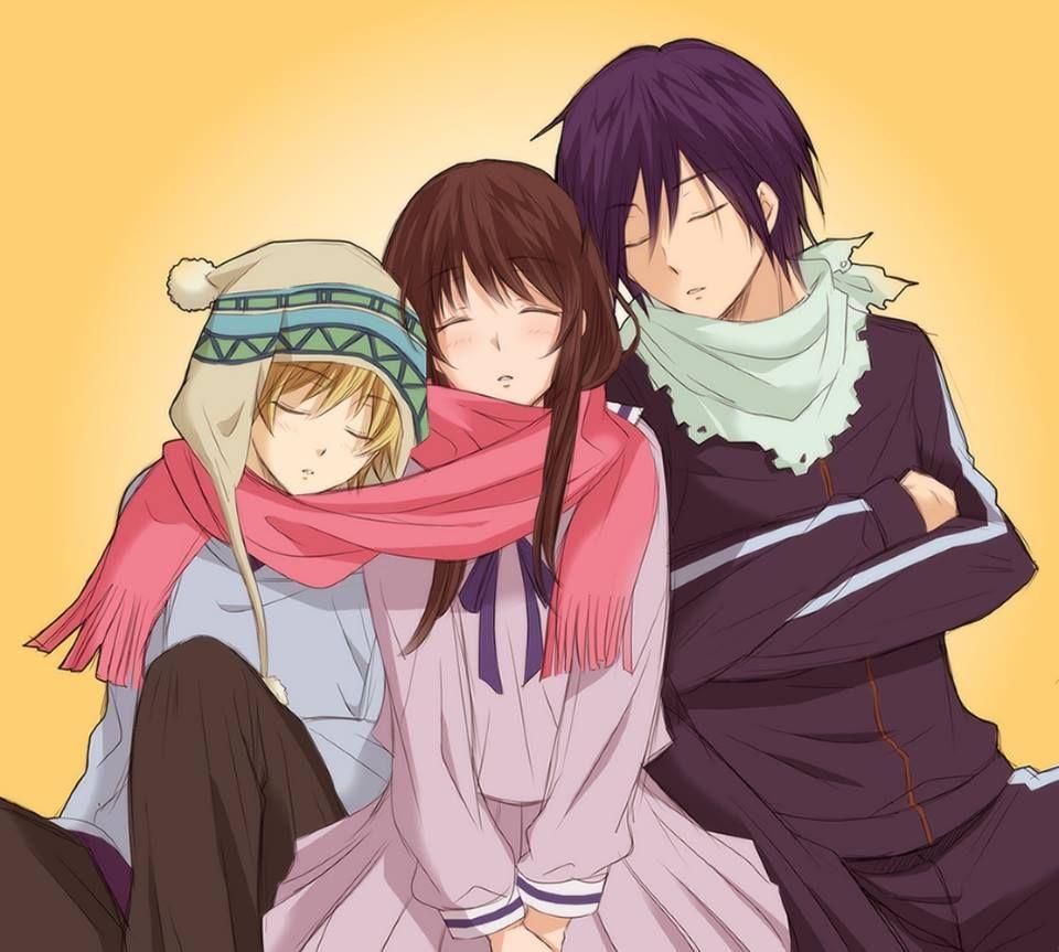 Norgami ~ Yato, Hiyori and Yukine