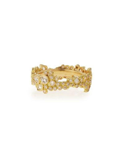 Armenta Sueño 18K Gold Diamond Stacking Ring lzC1j2c8