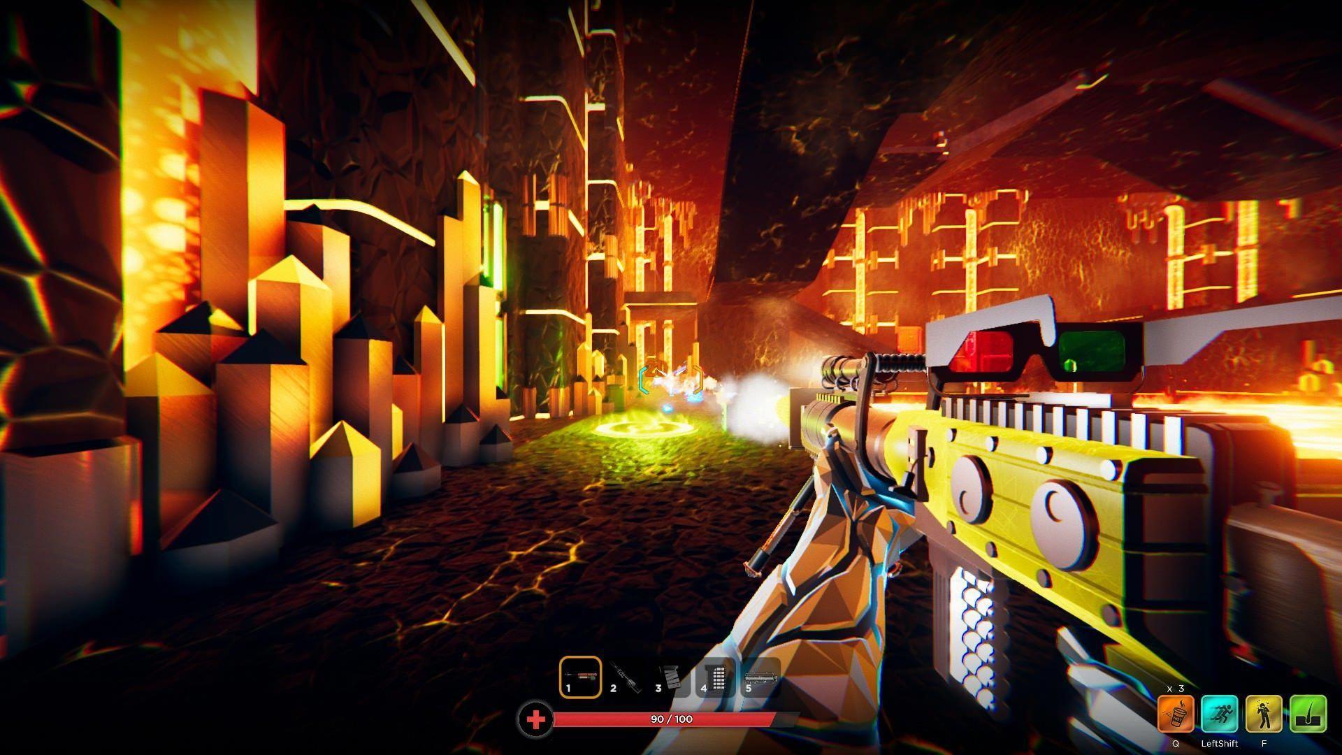 Hypergun, PC, Review, Screenshot videogamereviews Video