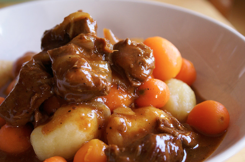 The Stir-Slow Cooker Beef Stew Recipe Is the Perfect Fall Meal