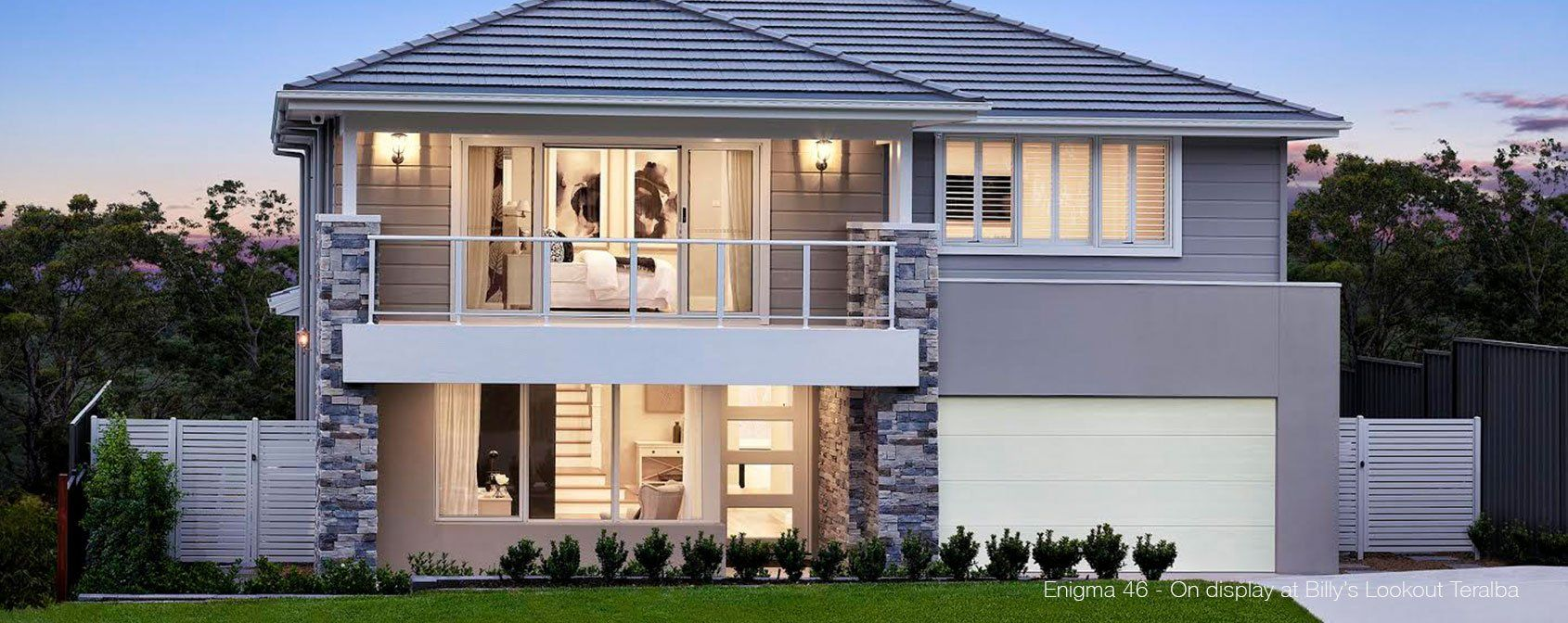Two Storey House Plans Enigma Mojo Homes House Double