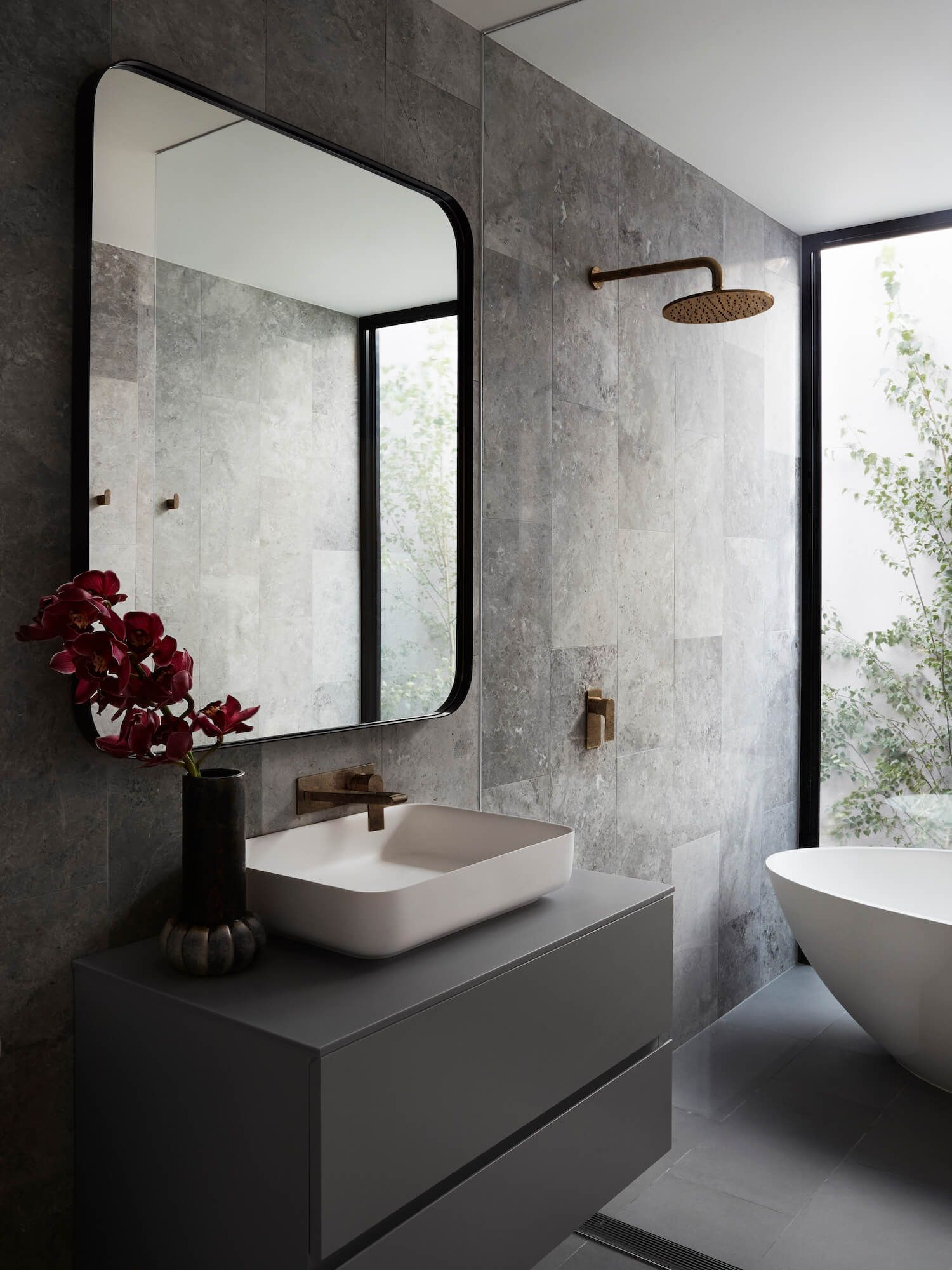 1940 S Renovation By Full Of Grace Interiors Bathroom Design
