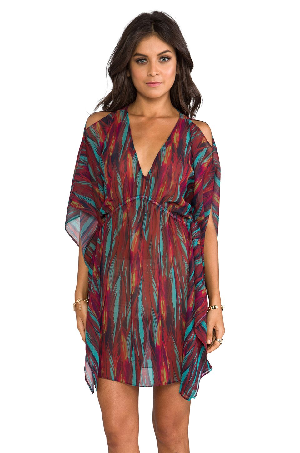 0d7734bd8d Vix Swimwear Lais Caftan in Napo from REVOLVEclothing | Caftans ...
