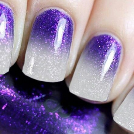 22 Purple Nail Art Designs That Are Going to Make You Love Purple Even More. - Image Via Pieces Of Amazing