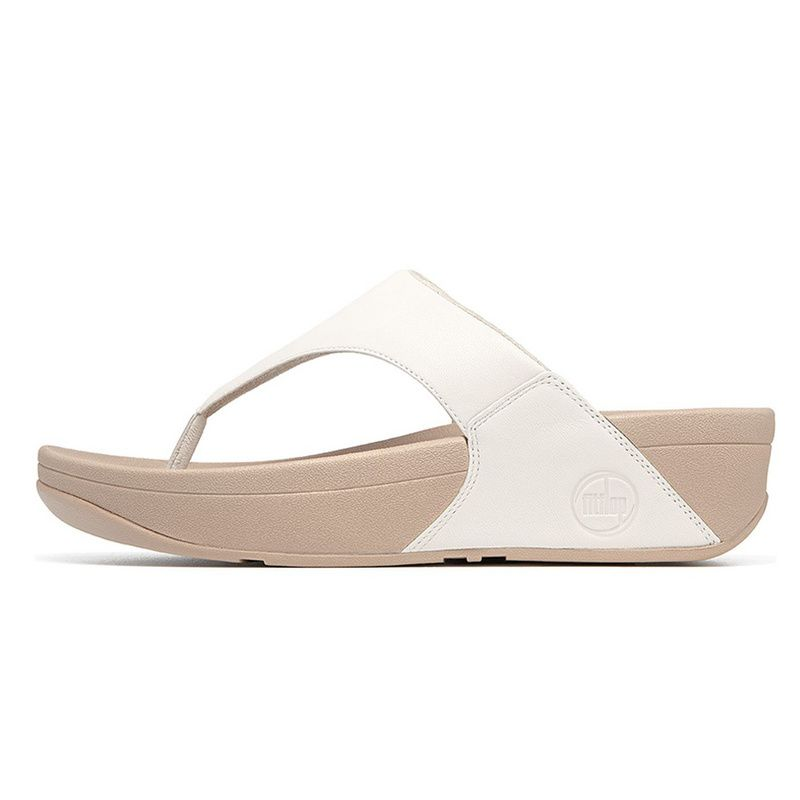 c4463a91c3c57 Fitflop LULU White Shoes - Most sales Fitflop White sandals. This is Summer  essential shoes for women. soft leather uppers is attract many guests.