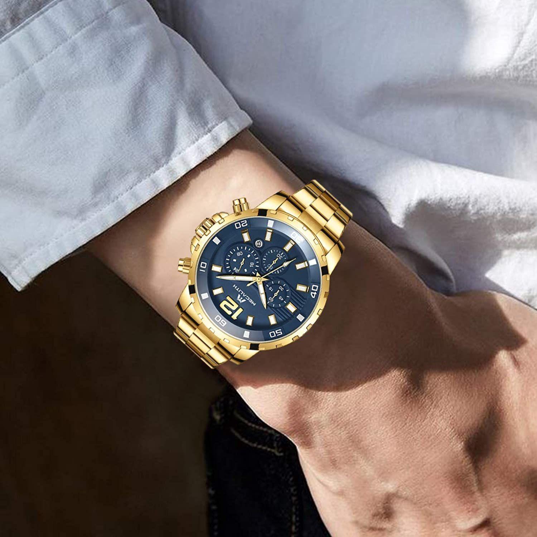 Relojes Hombre Relojes Grandes De Pulsera Militares Cronografo Disenador Luminosos Impermeable Reloj Hombre En 2020 Relojes Hombre Cronografo Reloj De Acero Inoxidable