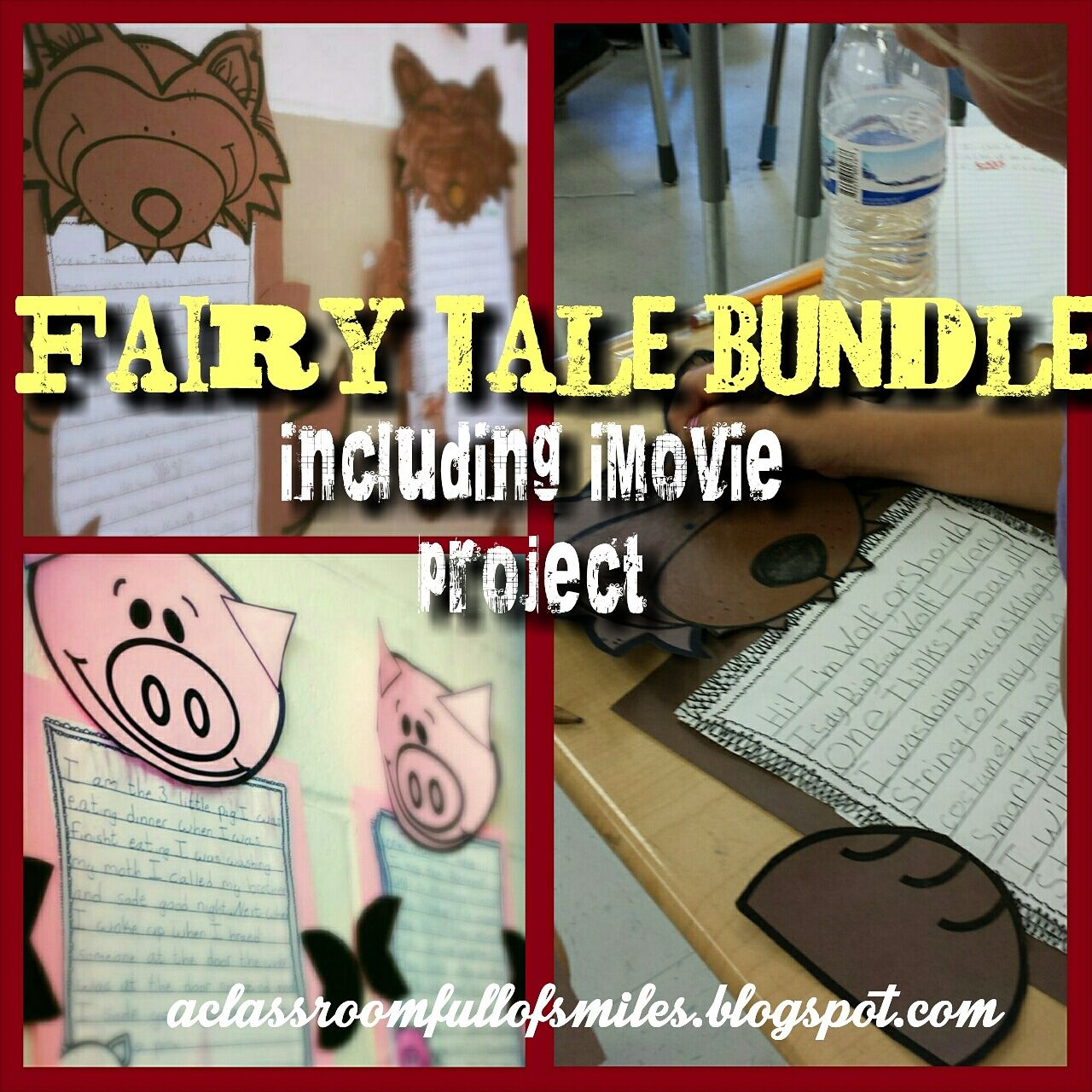 Little Red Riding Hood And The Three Little Pigs Craft And