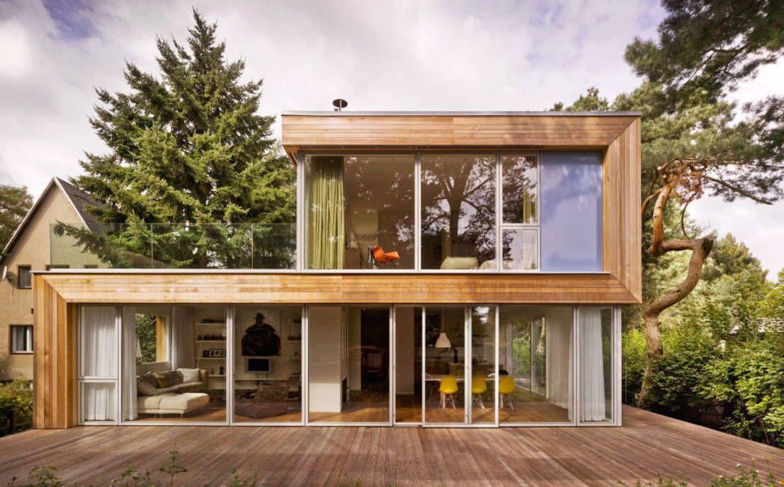 7 geniale Holzhäuser – Welches Design passt zu dir? | Modern ...