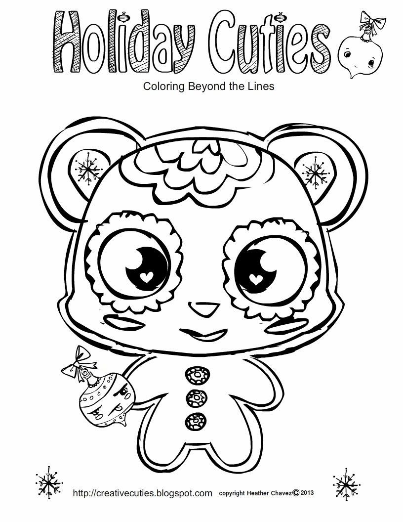 Gingerbread_cutie.jpg (816×1056) | Coloring Pages | Pinterest ...