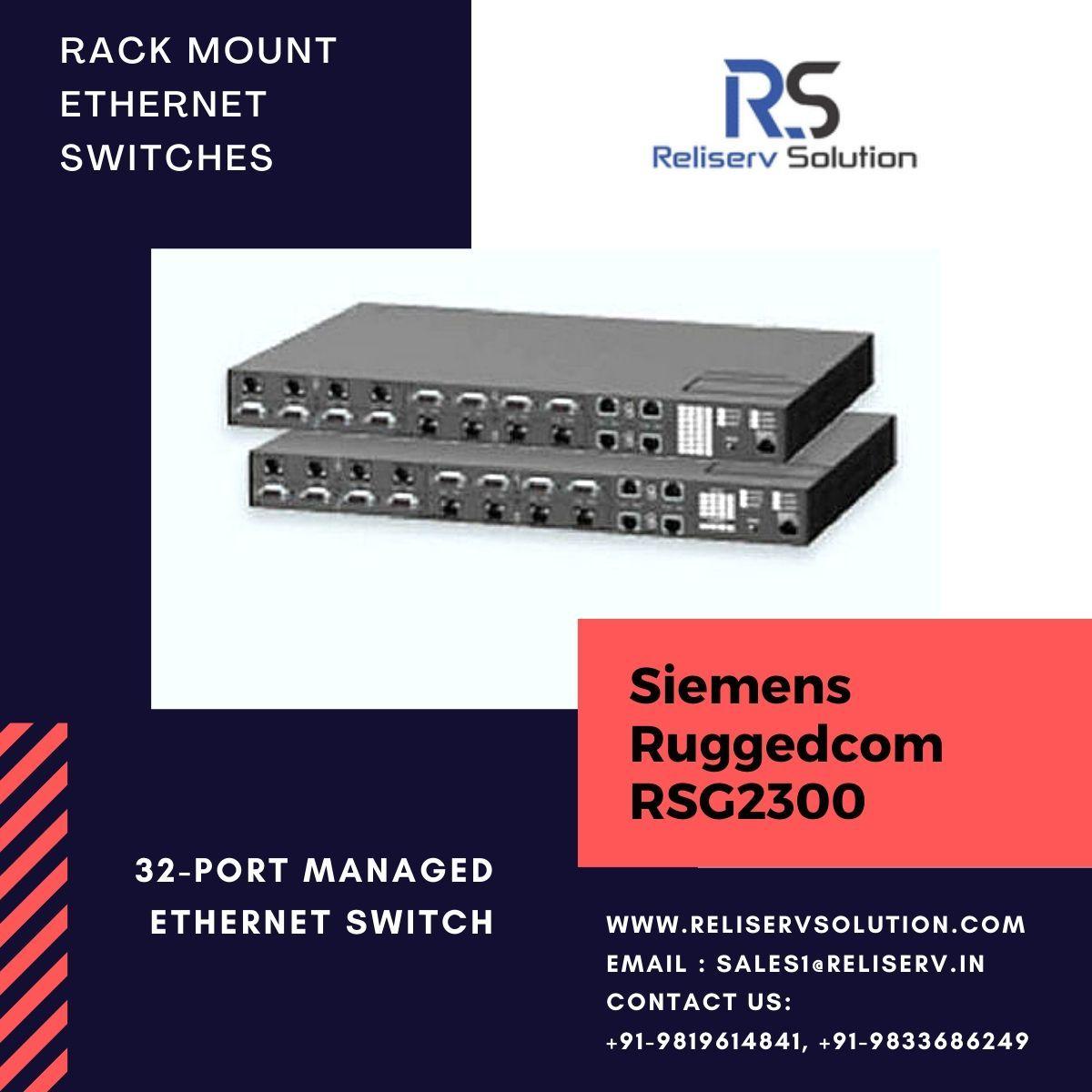 siemens ruggedcom rsg2300 rack mount