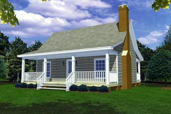 Cottage Style House Plan 2 Beds 1 Baths 800 Sq Ft Plan 21 169 Vacation House Plans Cottage Plan Country House Plans