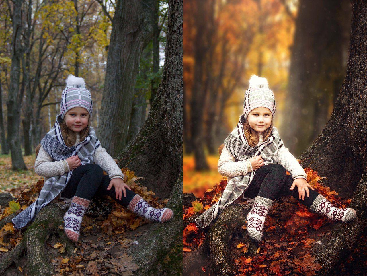 Фильтры для фотосъемки поздней осени