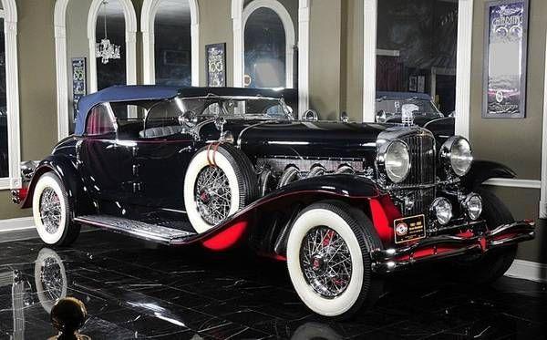Gangster-bought Duesenberg Model J/SJ heads to auction | Hemmings Daily