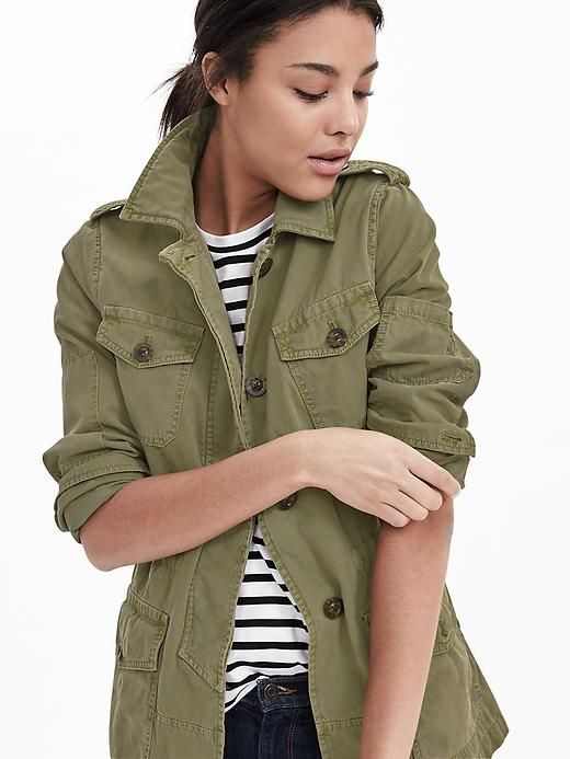 8dbb1c20f41a4 Military Jacket | Banana Republic | fashion passion - outerwear in ...