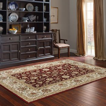 Thomasville Marketplace Hi Density Rug Collection New Haven Red