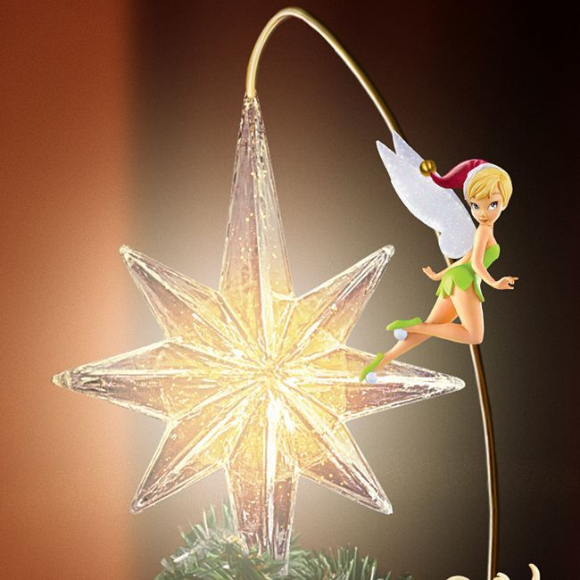 disney christmas tree toppers disney holiday treasures christmas tree topper ebay - Disney Christmas Tree Topper