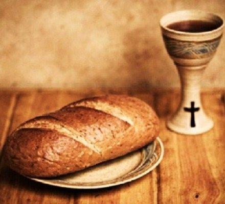 Communion Bread And Wine Eucharist Future Eucharist