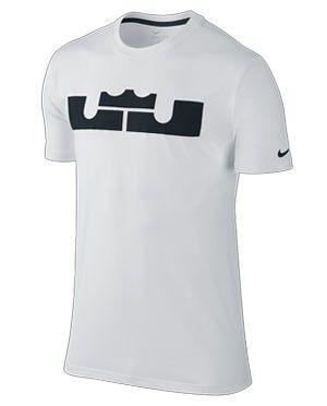 1a2c368252c5 Nike LeBron James Logo Tee