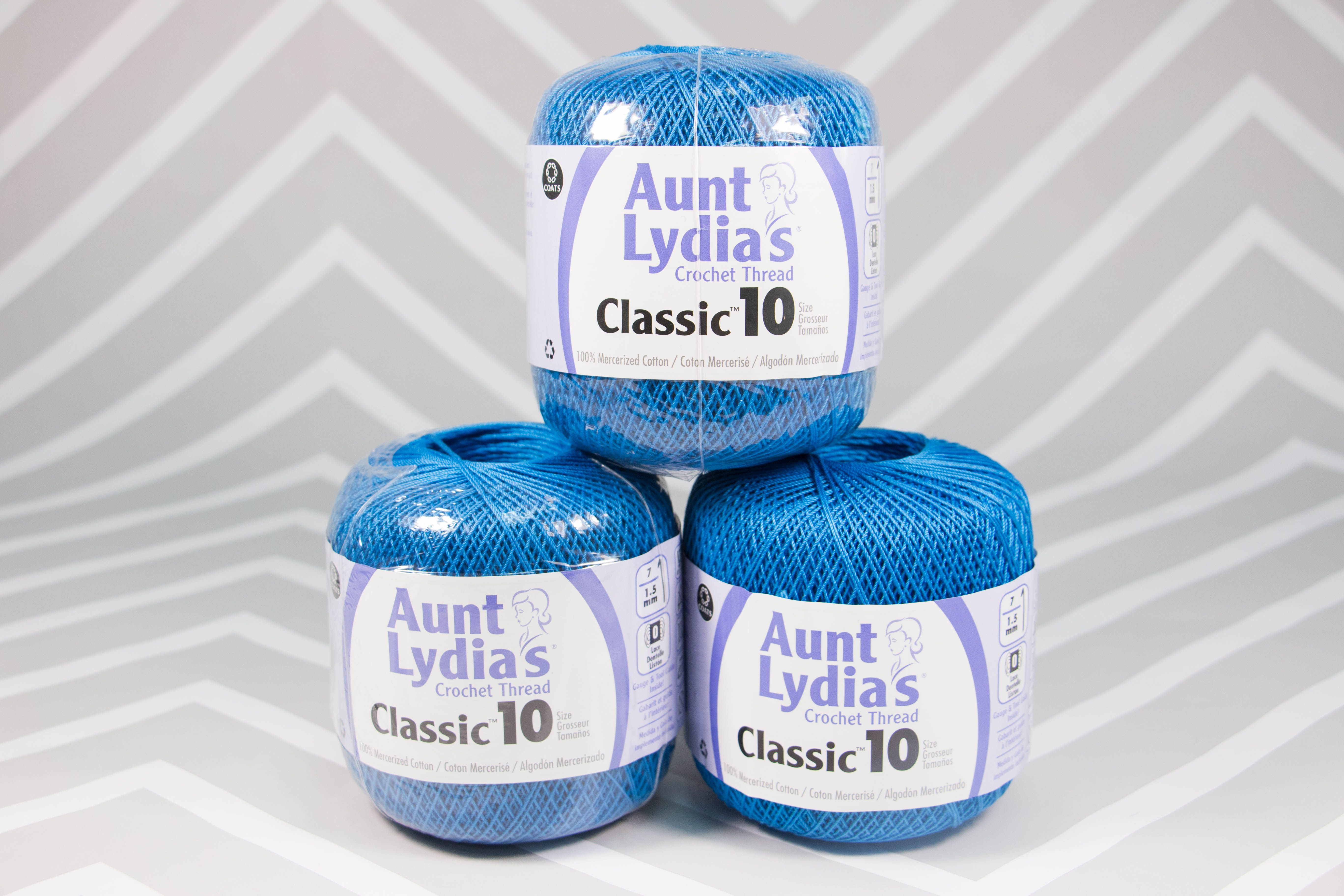 Enter to win Aunt Lydia\'s Crochet Thread! Giveaway compliments of ...