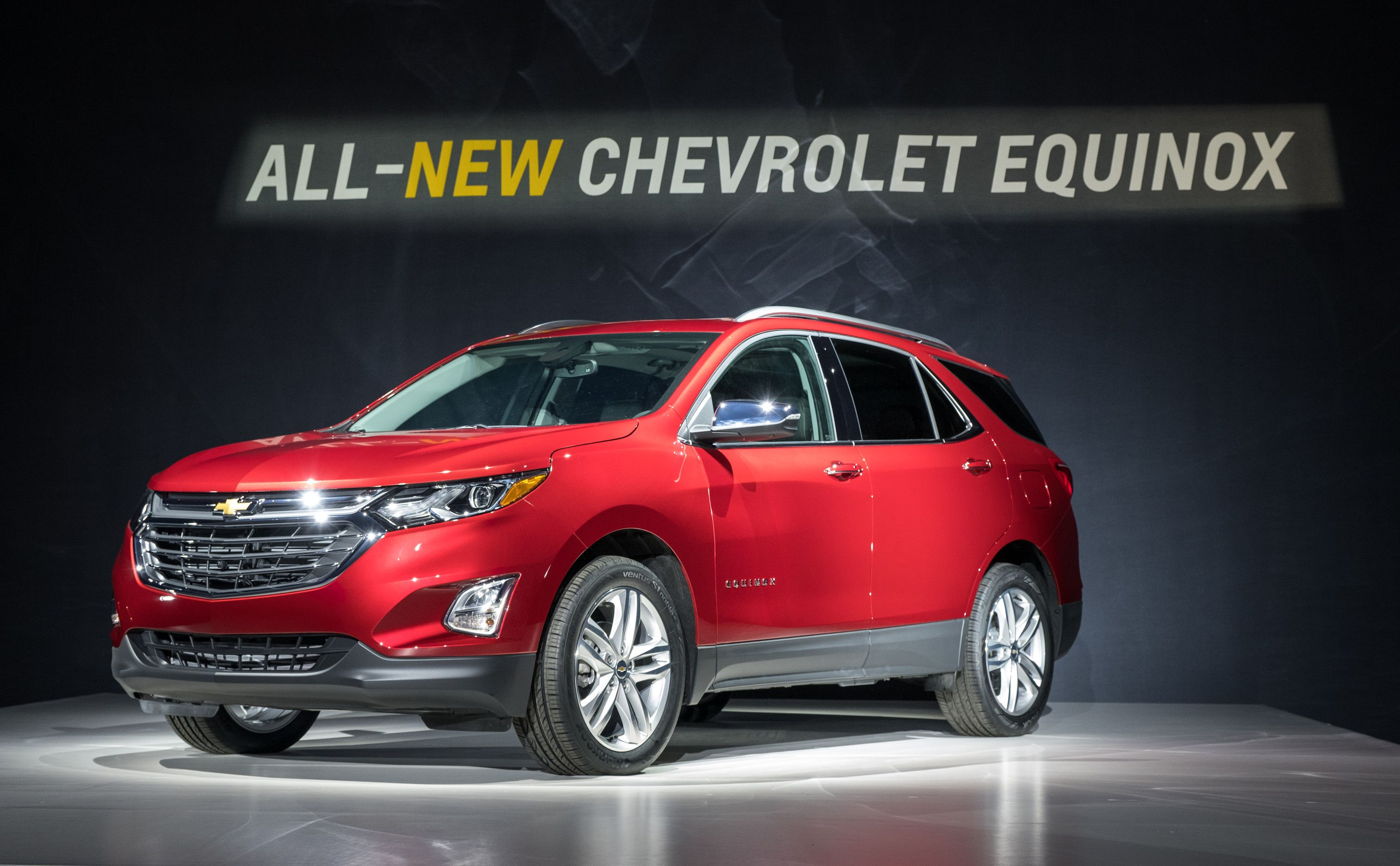 The Chevrolet Equinox Has Been Completely Redesigned For The 2018 Model Year A Chevrolet Equinox Chevy Equinox Chevrolet