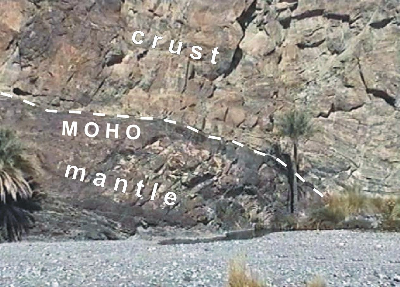 Oman  Oman 2002 www.geo.tu-freiberg.de1316 × 943Ricerca tramite immagine The MOHO in Wadi Abyad (the classical...)